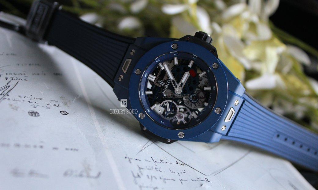 Hublot Big Bang Meca-10 Blue 414.EX.5123.RX