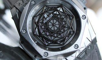 Hublot Big Bang Sang Bleu Black Ceramic 415.CX.1112.VR.MXM18