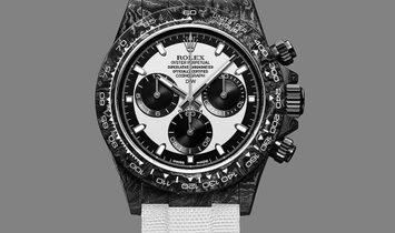 Rolex DiW NTPT Carbon Daytona Panda CREAM (Retail:US$49,500)