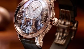 Jaquet Droz [LIMITED 1 PIECE] Tropical Bird Repeater J033033206 (Retail:CHF 885'600)