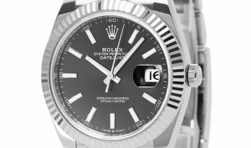 Rolex Datejust 126334, Baton, 2020, Very Good, Case material Steel, Bracelet material: