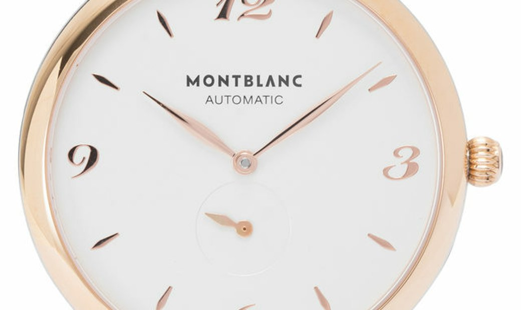 Montblanc Star Classique 107309, Baton, 2020, Very Good, Case material Steel, Bracelet