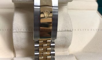 Rolex Datejust 41 126333-0016 Oystersteel and Yellow Gold White Dial