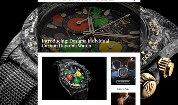 Rolex DiW [NEW] Ultimate Unique MOTLEY NTPT Carbon Daytona