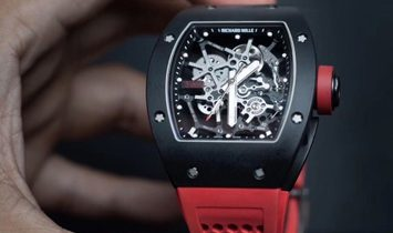Richard Mille [2018 LIKE NEW] RM 035 Baby Nadal Aluminum Ultra-Light 48MM Watch