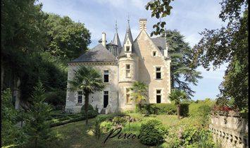Castillo en Angers, Países del Loira, Francia 1
