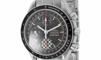 Omega Speedmaster Michael Schumacher Special Edition 3529.50.00, Baton, 2003, Good, Cas