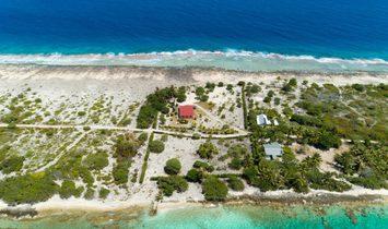 House in Fakarava, French Polynesia