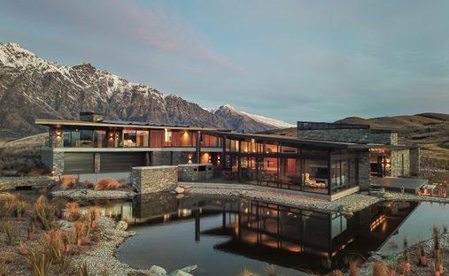 House in Kawarau Falls, Otago, New Zealand