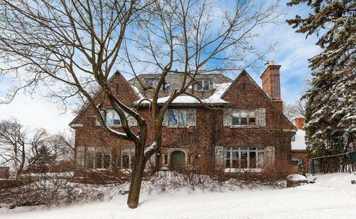 House in Westmount, Québec, Canada