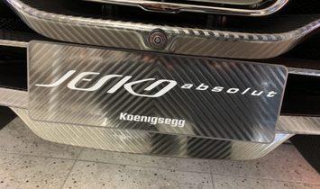 2021 Koenigsegg Jesko Absolute