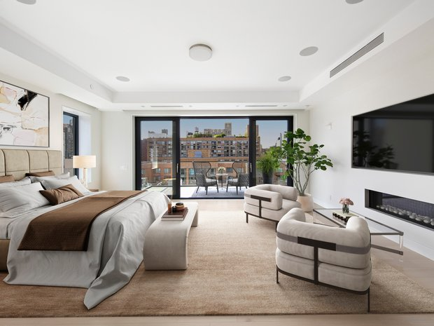 Penthouse in Manhattan, New York, United States 1