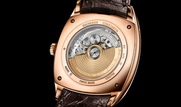 VACHERON CONSTANTIN [NEW] Harmony Silver Dial Rose Gold 4000S/000R-B123 (Retail:HK$282,000)