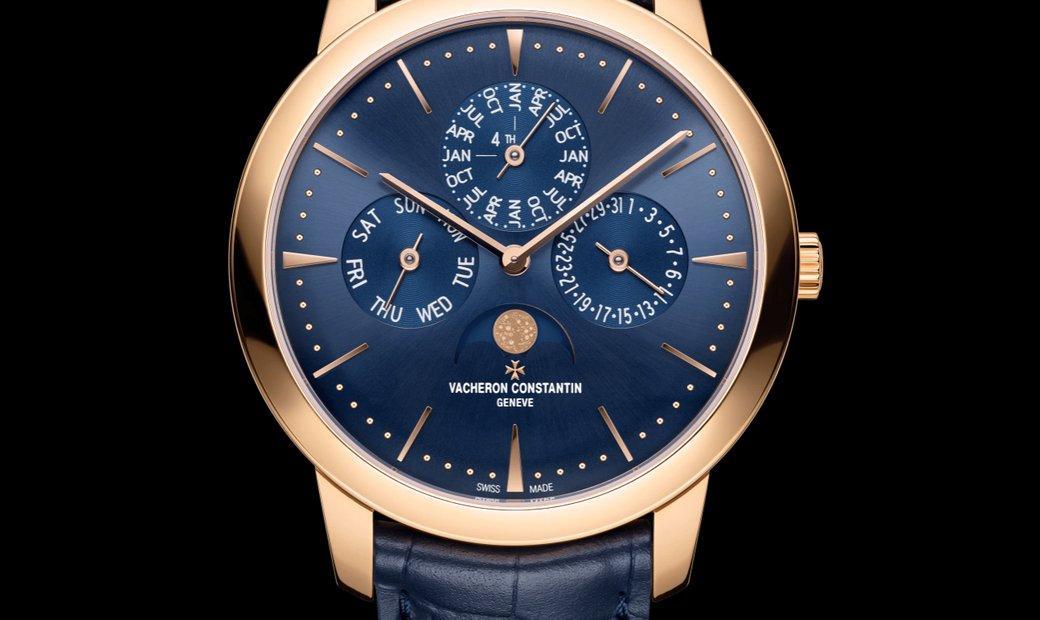 Vacheron Constantin Patrimony Perpetual Calendar Ultra-Thin 43175/000R-B519 (Retail:HK$600,000)