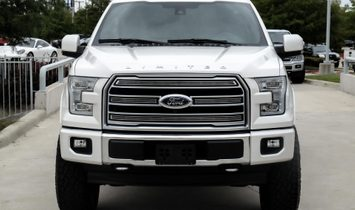 2017 Ford F-150 Limited $67,790 MSRP PLUS 10K IN ADDS