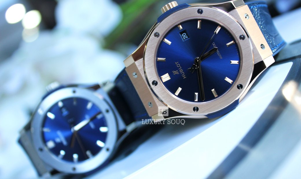 Hublot Classic Fusion Blue Automatic 42mm 542.OX.7180.LR