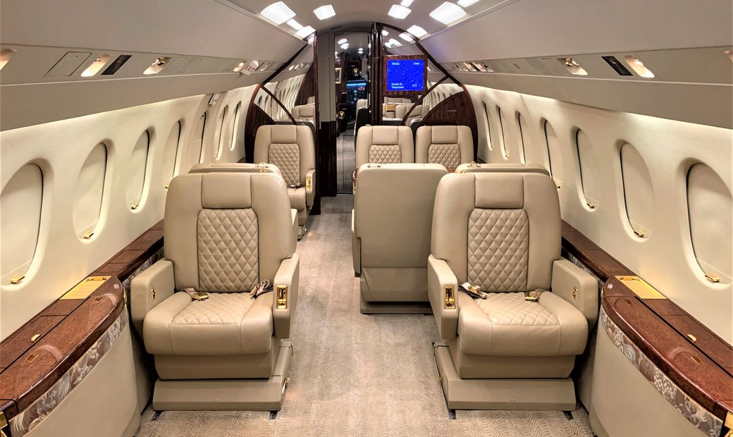Spacious Super Mid Jet w/ Excellent Short Field Performance & Low Operating Costs