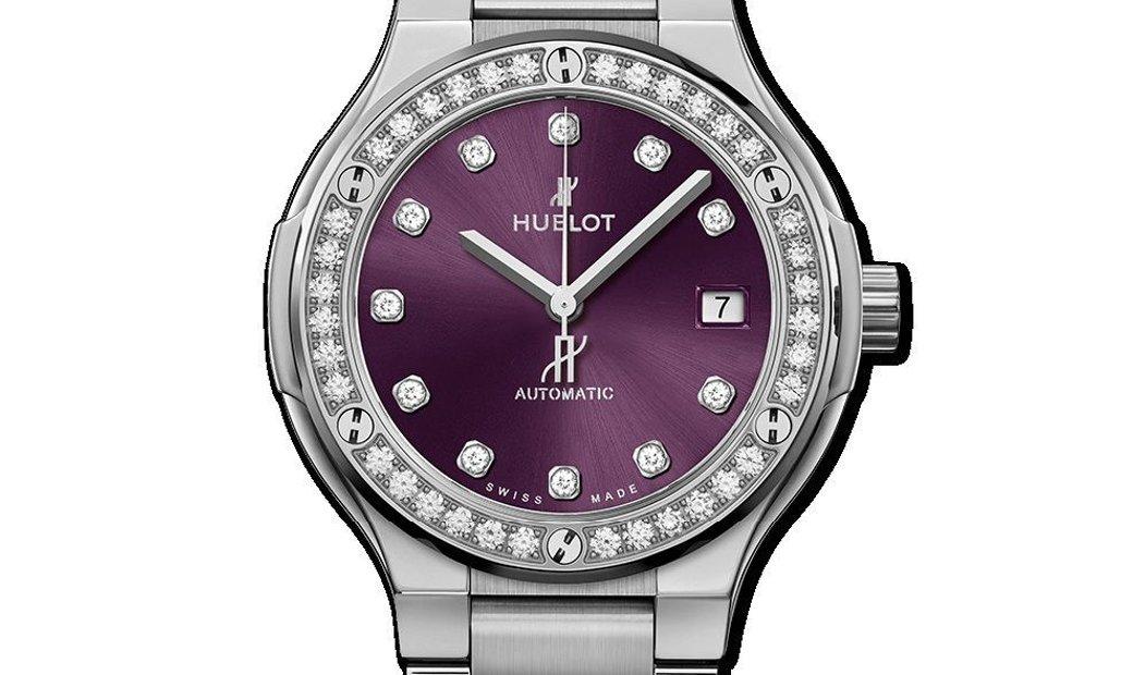 Hublot Classic Fusion Purple Diamonds 568.NX.897V.NX.1204