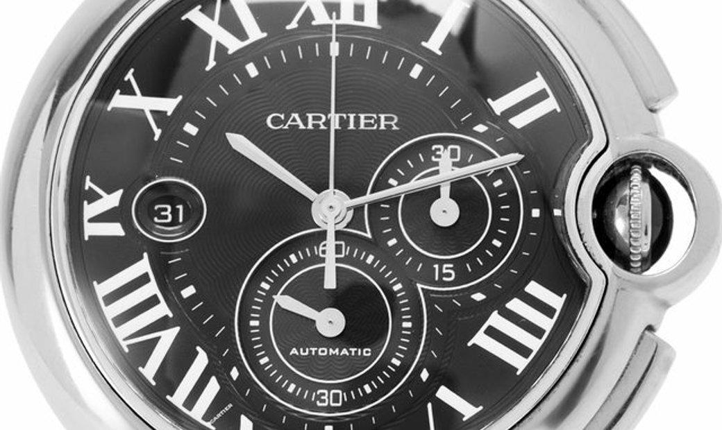 Cartier Ballon Bleu W6920052, Roman Numerals, 2015, Very Good, Case material Steel, Bra