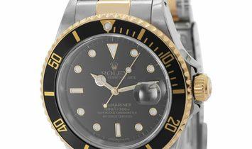 Rolex Submariner 16613, Baton, 1990, Very Good, Case material Steel, Bracelet material: