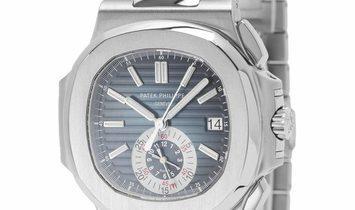 Patek Philippe Nautilus 5980/1A-001, Baton, 2014, Good, Case material Steel, Bracelet m