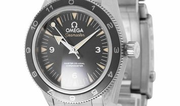 "Omega Seamaster James Bond ""Spectre"" Ltd. 233.32.41.21.01.001, Arabic Numerals, 2015, U"