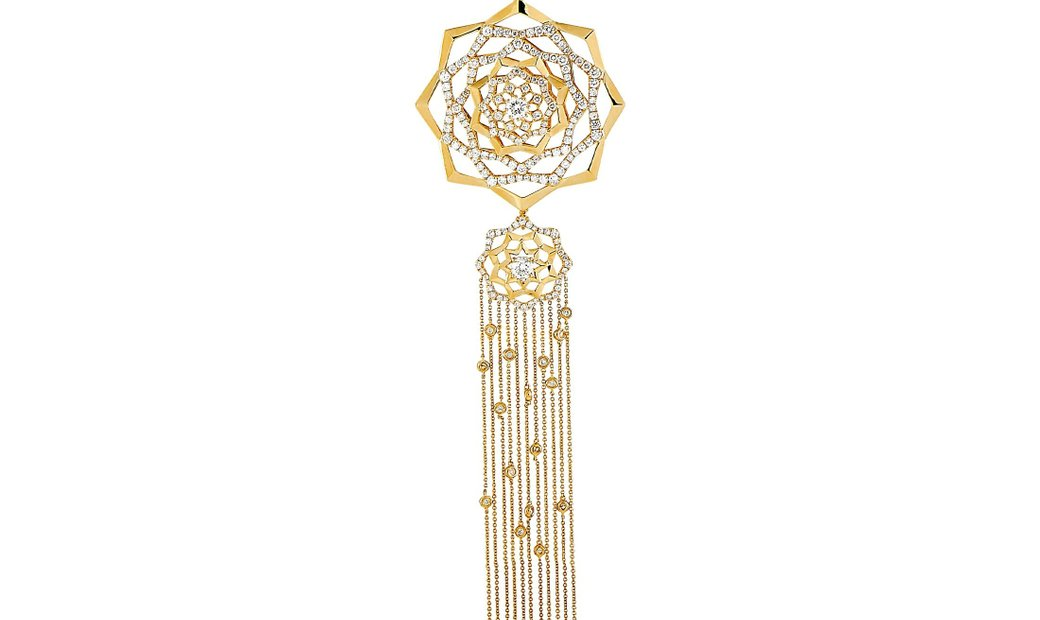 LB Exclusive LB Exclusive 18K Yellow Gold 5.33 ct Diamond Pendant Necklace