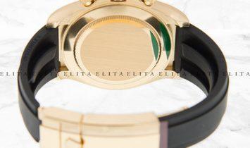 Rolex Daytona Cosmograph 116518LN-0045 Yellow Gold Diamond Set White Mother of Pearl Dial