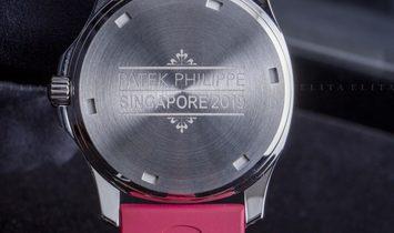 Patek Philippe Aquanaut 5067A-027 Luce Singapore Edition