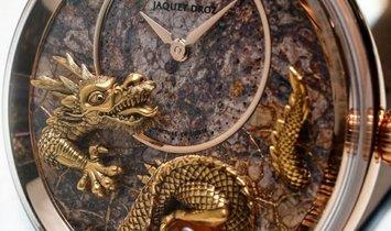 Jaquet Droz [LIMITED 28 PIECE] Petite Heure Minute Relief Dragon J005023287 (Retail:CHF 74'550)