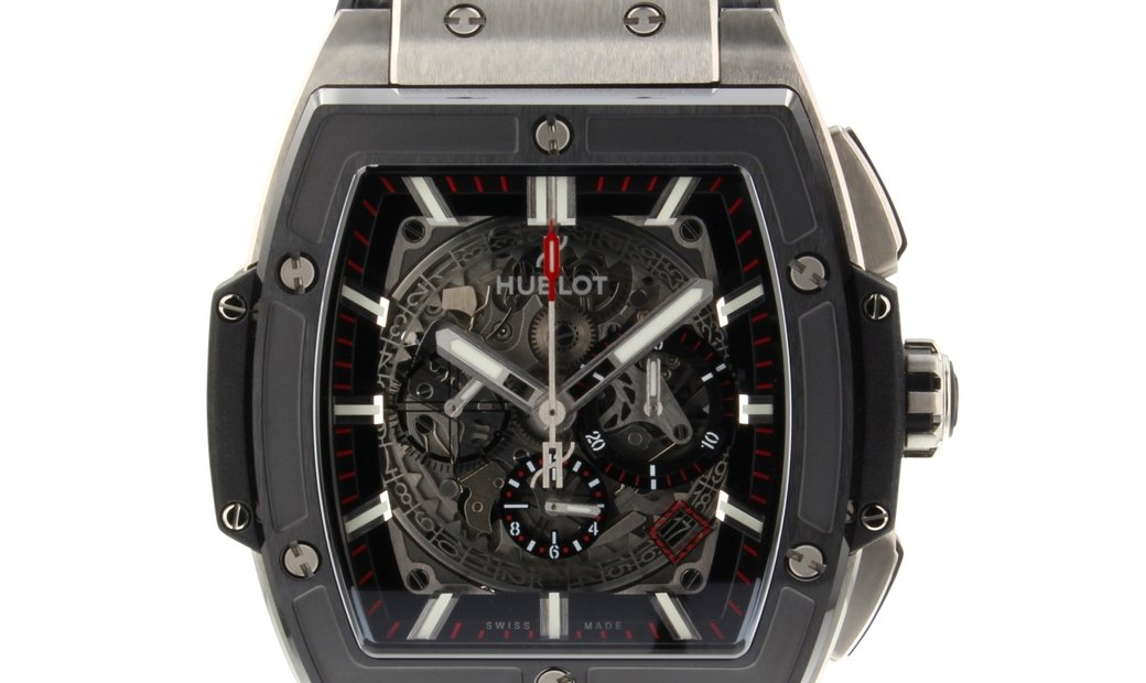 HUBLOT SPIRIT OF BIG BANG TITANIUM CERAMIC CHRONOGRAPH 601.NM.0173.LR