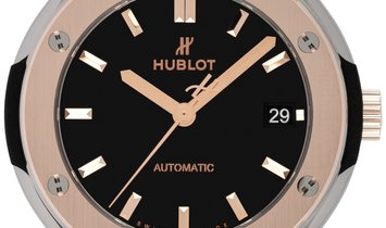 HUBLOT CLASSIC FUSION AUTOMATIC TITANIUM KING GOLD 38MM 565.NO.1181.LR