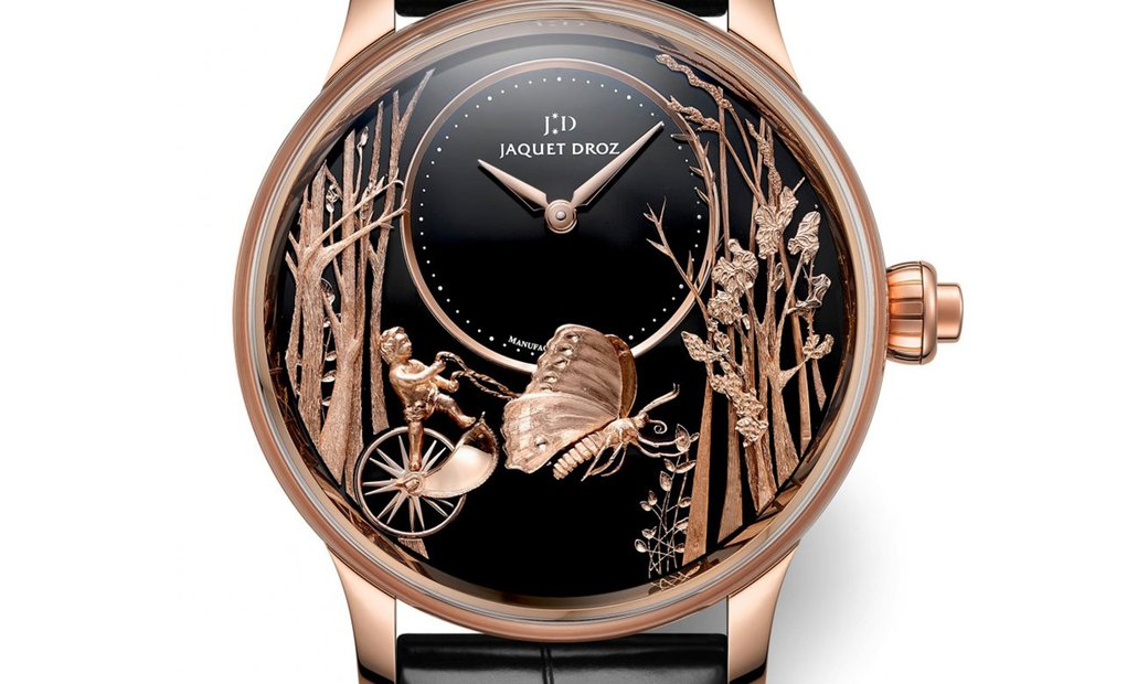 Jaquet Droz [NEW] Loving Butterfly Automaton J032533276 (Retail:CHF 205'200)