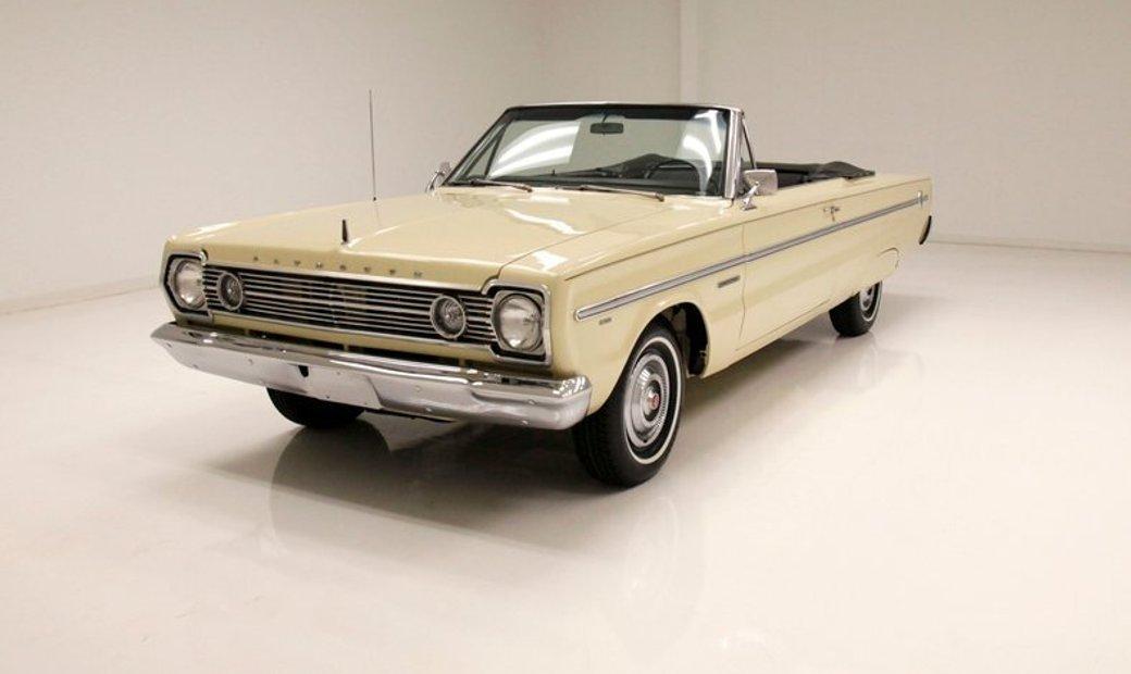 1966 Plymouth Belvedere Convertible