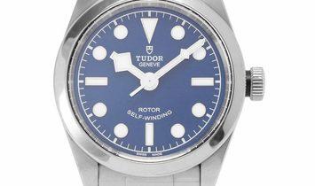 Tudor Heritage Black Bay 32 79580, Baton, 2019, Very Good, Case material Steel, Bracele