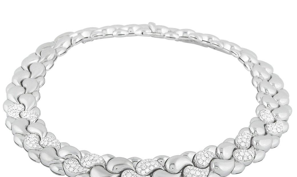 Chopard Chopard Casmir 18K White Gold 4.00 ct Diamond Necklace