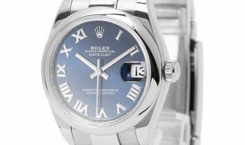 Rolex Lady-Datejust 178240, Roman Numerals, 2018, Good, Case material Steel, Bracelet m