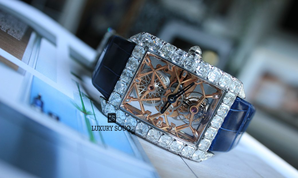 Jacob & Co. Diamond Millionaire Skeleton ML501.30.BD.AA.A