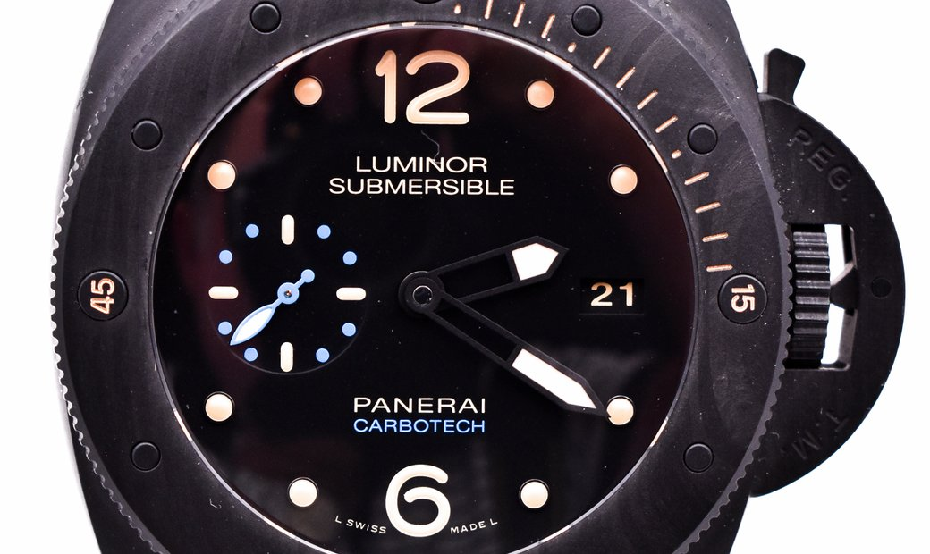 Panerai Submersible 1950 3 Days Carbotech