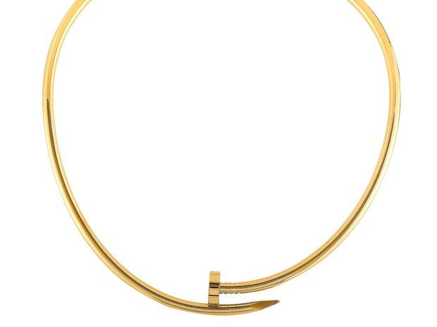 Cartier Cartier Juste un Clou 18K Yellow Gold Necklace (11123855)