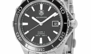 TAG Heuer Aquaracer WAK2110.BA0830, Baton, 2015, Good, Case material Steel, Bracelet ma