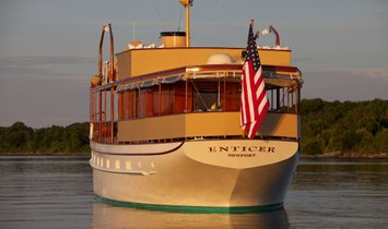 ENTICER 85' (25.91m) Mathis Trumpy 1935/2015 FRACTIONAL OWNERSHIP OPPORTUNITY