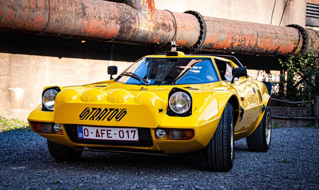 Lancia stratos recreation