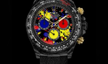 "Rolex DiW Cosmograph NTPT Carbon Daytona ""MOTLEY 3G"" (Retail:US$56,990)"