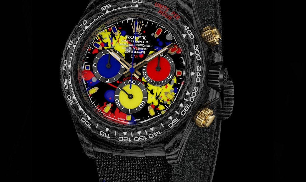 "Rolex DiW Cosmograph NTPT Carbon Daytona ""MOTLEY 3G"" (Retail:US$61,500)"