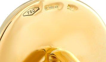 Bvlgari Bvlgari BVLGARI BVLGARI 18K Yellow Gold Lapis Lazuli Cufflinks