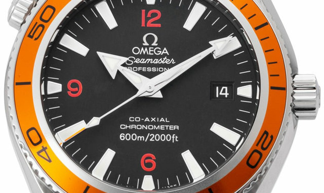 Omega Seamaster Planet Ocean 2909.50.83, Baton, 2009, Good, Case material Steel, Bracel