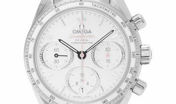 Omega Speedmaster 38 Co-Axial Chronograph 324.30.38.50.55.001, Baton, 2020, Very Good,