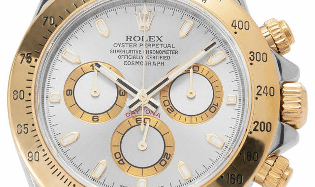 Rolex Daytona 116523, Baton, 2011, Good, Case material Steel, Bracelet material: Steel