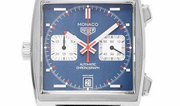 TAG Heuer Monaco CAW211P.FC6356, Baton, 2019, Very Good, Case material Steel, Bracelet